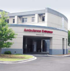 Summerville Medical Center's Ambulance Entrance. Summerville, SC