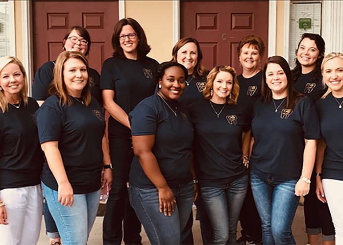 Grosso Orthodontics team photo